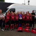 Willem Meesters Groenverzorging nieuwe tassensponsor damesteam