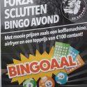 Forza SC Lutten Bingo Avond aanstaande vrijdag 26 januari