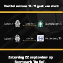 Matchday 22 september