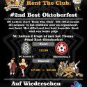 #2nd Best Oktoberfest op zaterdag 27 oktober